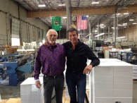 Herb and me at his factory